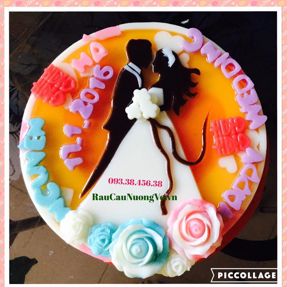 Bánh cưới mẫu tròn (3 mẫu)