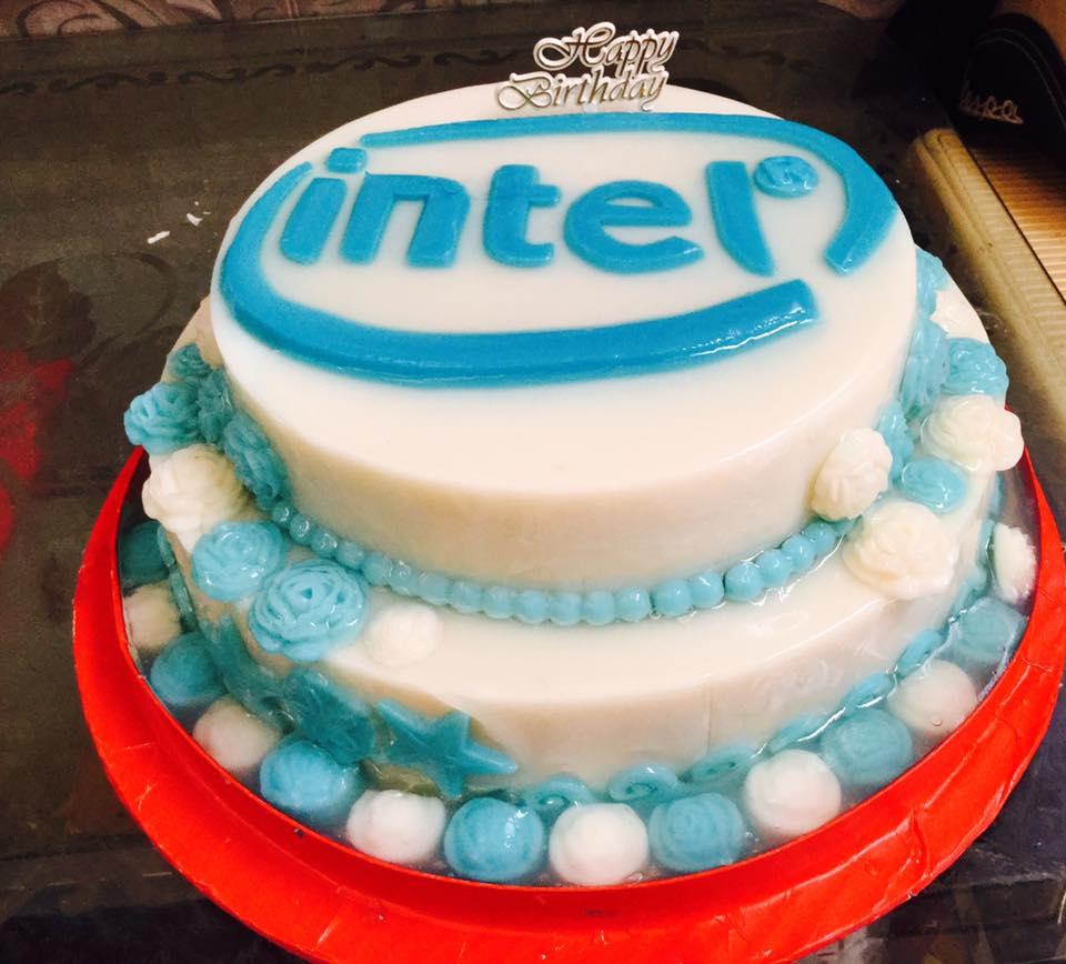 Logo công ty Intel (1 mẫu)