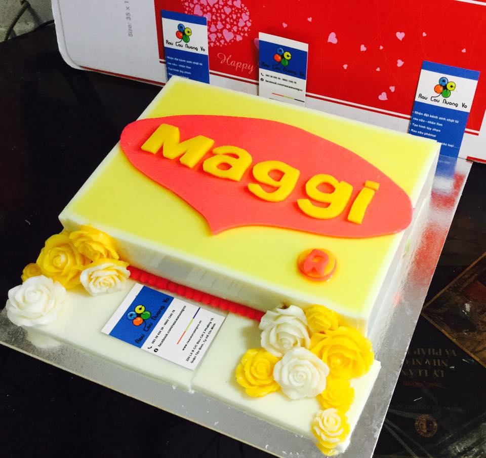 Logo công ty Maggi (1 mẫu)