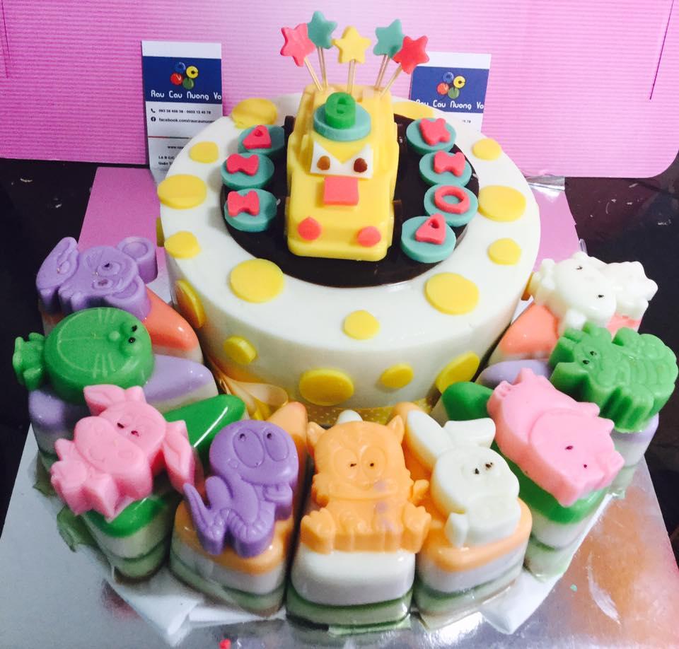 – Ô tô & cupcake – (2 mẫu)