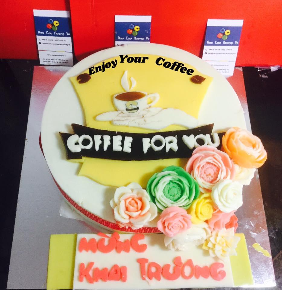 Logo Coffee for you (1 mẫu)