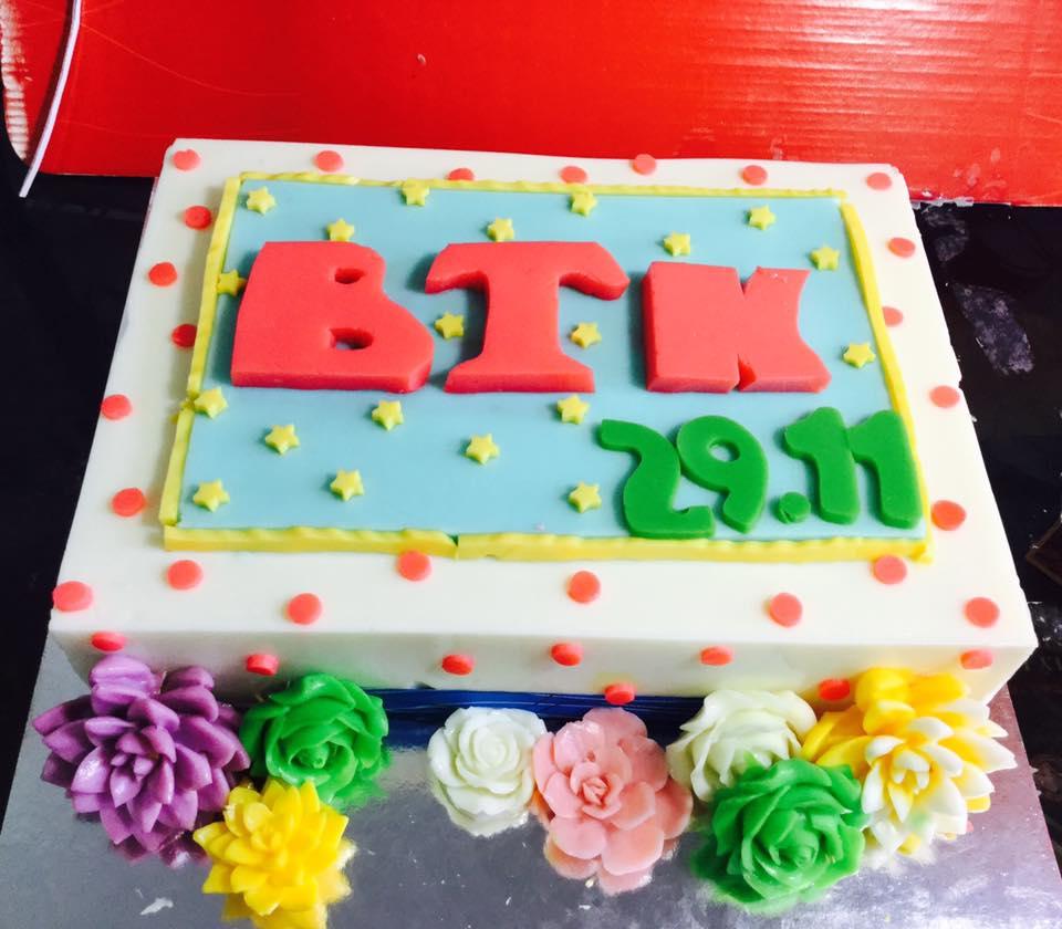 Logo công ty BTK (1 mẫu)