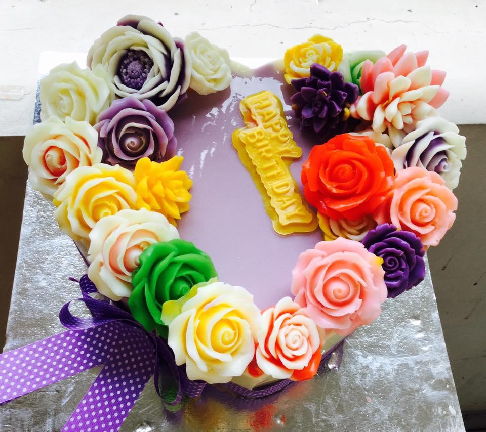 – Hoa ngũ sắc tim – (2 mẫu)