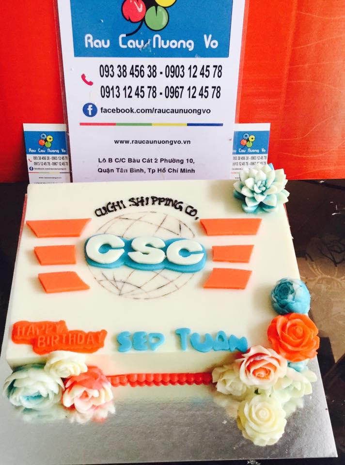 Logo công ty CSC (1 mẫu)