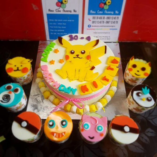 pokemon va cupcake