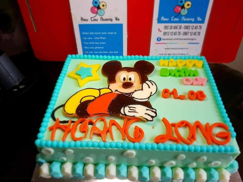 Chú chuột Mickey (2 mẫu)
