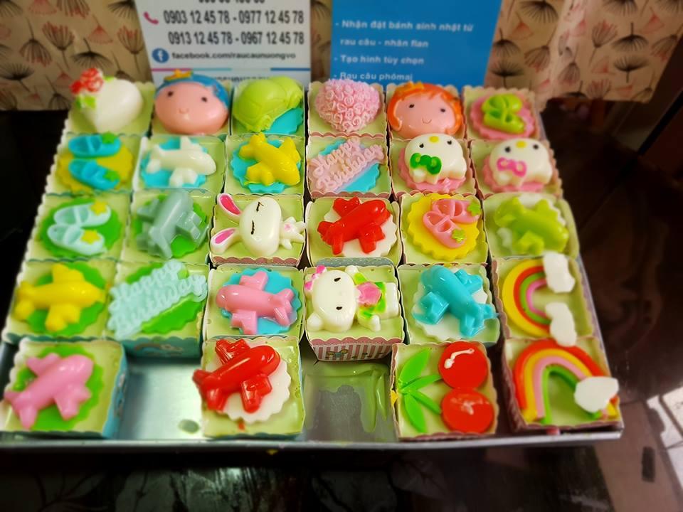 Cupcake ăn vặt (7 mẫu)