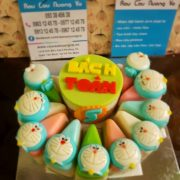 cupcake doremon