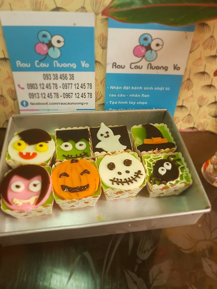 Cupcake Haloween (2 mẫu)