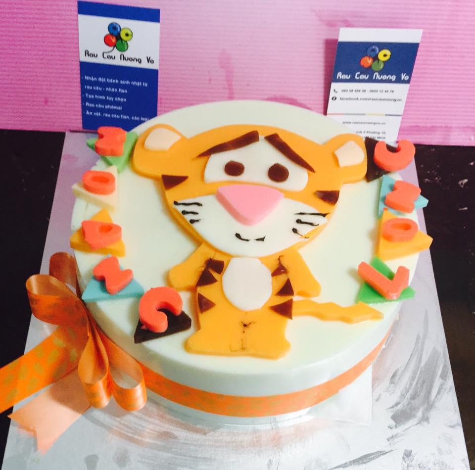 Bánh sinh nhật dễ thương Tuổi Dần