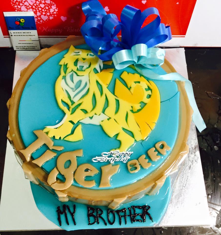 – Logo bia Tiger – (1 mẫu)